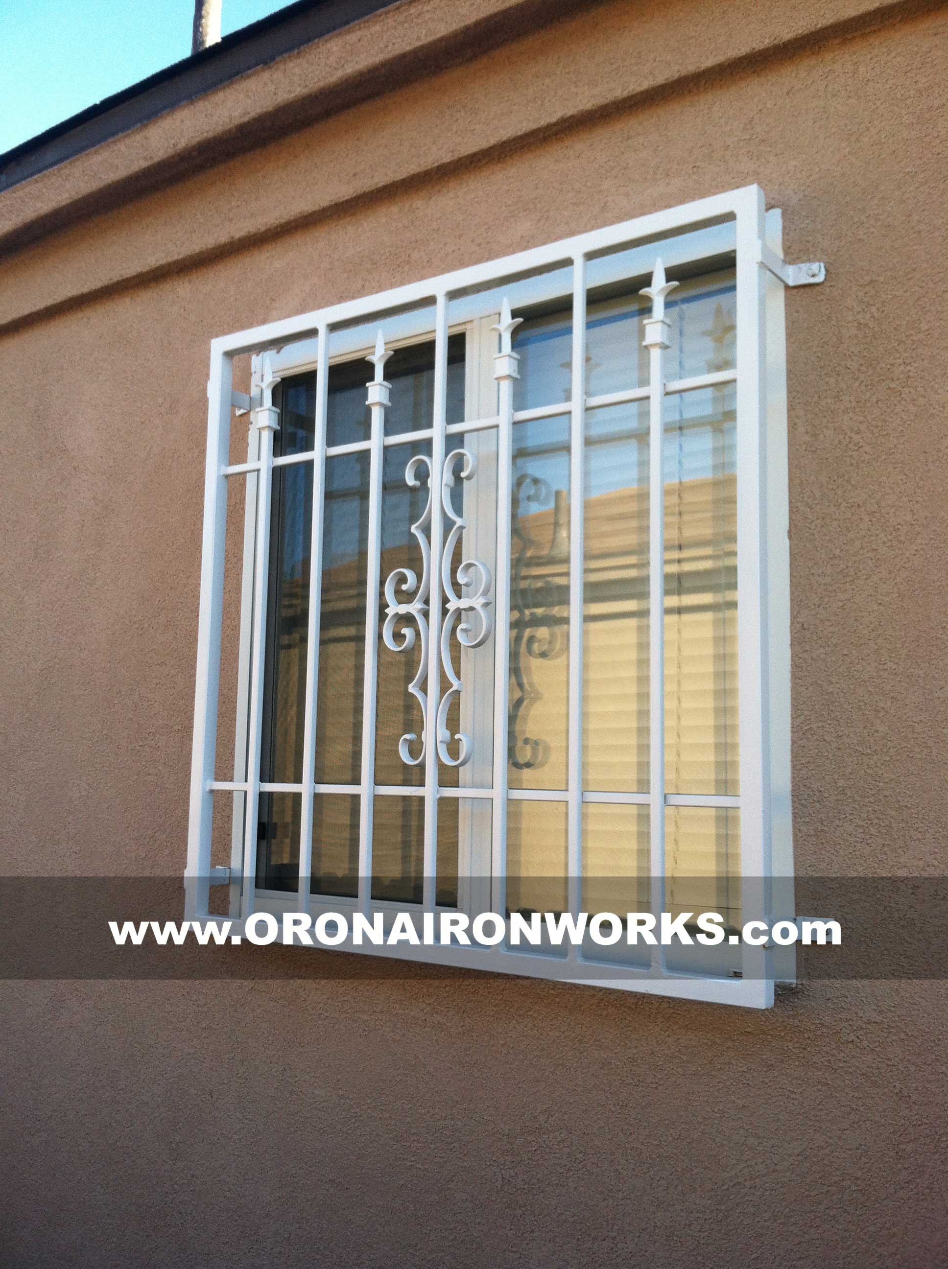 Window grills orona forge for Custom design windows